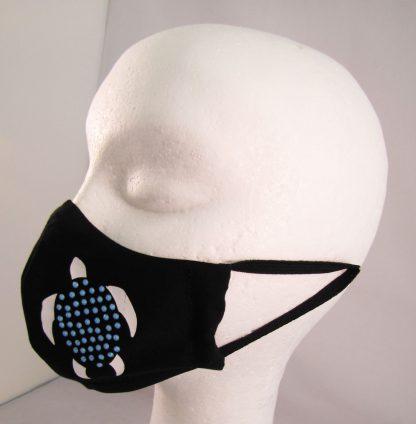 Zaščitna maska Želva s kristali Swarovski®