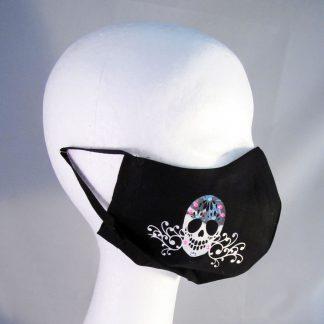 Zaščitna pralna maska z motivom Lobanja