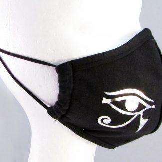 Zaščitna maska sončnega boga Ra s kristali Swarovski®