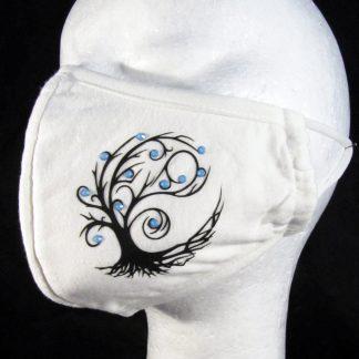 Zaščitna maska Drevo življenja2 s kristali Swarovski®